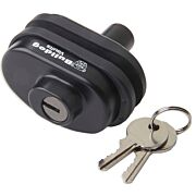 BULLDOG SINGLE TRIGGER LOCK W/ MATCHING KEY SAME KEY FOR LOCK