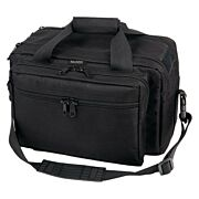 BULLDOG EXTRA LARGE RANGE BAG BLACK W/ PISTOL RUG