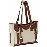 BULLDOG CONCEALED CARRY PURSE W/ HOLSTER TOTE STYLE SAND/STN