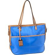 BULLDOG CONCEALED CARRY PURSE TOTE STYLE NYLON ELECTRIC BLU!