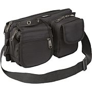 BULLDOG BDT DELUXE SATCHEL GO BAG/WAIST PACK W/MOLLE BLACK