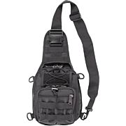 BULLDOG BDT X-SMALL SLING BAG` W/MOLLE WEBBING BLACK