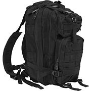 BULLDOG COMPACT BACKPACK BLACK W/ MOLLE