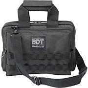 BULLDOG DELUXE 2 PISTOL RANGE BAG W/MOLLE BLACK