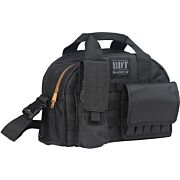 BULLDOG TACTICAL RANGE BAG W/ MOLLE MAG POUCHES BLACK
