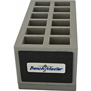 BENCHMASTER DOUBLE STACK 45ACP 12 UNIT MAG RACK