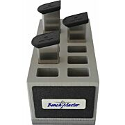 BENCHMASTER DOUBLE STACK 9MM 12 UNIT MAG RACK