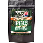 PROTECTION FIRST CLASS OIL PINE SCENT GUN RAG!