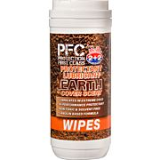 PROTECTION FIRST CLASS OIL EARTH SCENT GUN WIPES!