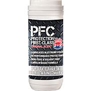PROTECTION FIRST CLASS OIL ORIGINAL SCENT GUN WIPES!