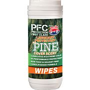 PROTECTION FIRST CLASS OIL PINE SCENT GUN WIPES!