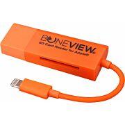 BONEVIEW SD CARD READER FOR IPHONE 11/12 W/LIGHTNING XTNDR