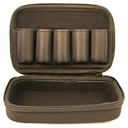 CARLSONS CHOKE TUBE CASE 5 CHOKE CAPACITY BLACK NYLON