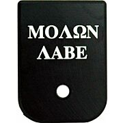 CRUXORD MAGAZINE BASE PLATE MOLON LABE FITS MOST GLOCKS