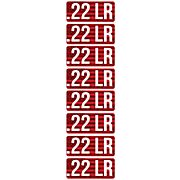 MTM AMMO CALIBER LABELS .22LR 8-PACK
