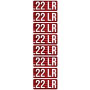 MTM AMMO CALIBER LABELS .22LR 8-PACK