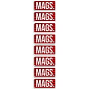 MTM AMMO CALIBER LABELS MAGS 8-PACK