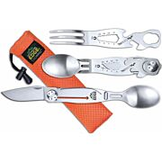 OUTDOOR EDGE CHOWPAL MEALTIME MULTITOOL W/KNIFE & ORNG POUCH