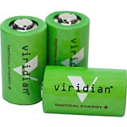 VIRIDIAN LITHIUM BATTERY CR2 3-PACK FITS C-SERIES