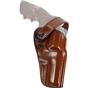 """GALCO DAO BELT HOLSTER RH LEATHER RUGER SUP RED 71/2"""" TN"""