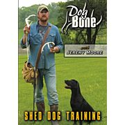 MOORE OUTDOORS DOG BONE SHED TRAINING DVD W/JEREMY MOORE