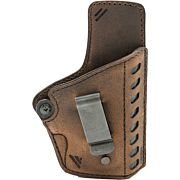 VC DELTA CARRY HOL IWB LEATHER BELT CLIP RH 1911 STYLE BROWN