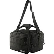 DRAGO PRO RANGE BAG BLACK ZIP DOWN FRONT ORGANIZER