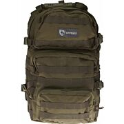 DRAGO ASSAULT BACKPACK GREEN MAX CAP STORAGE COMPARTMENTS