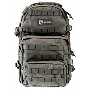 DRAGO ASSAULT BACKPACK GRAY MAX CAP STORAGE COMPARTMENTS