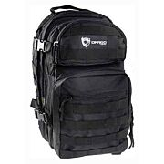 DRAGO SCOUT BACKPACK BLACK 5-MAIN STORAGE AREA HEAVY DUTY