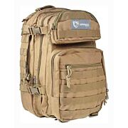 DRAGO SCOUT BACKPACK TAN 5-MAIN STORAGE AREA HEAVY DUTY
