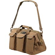 DRAGO SPORTSMAN PRO TOOL BAG 6 EXTRNAL POUCHES TAN