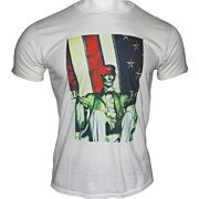 GI MEN'S T-SHIRT TRUMP ABE LINCOLN LARGE WHITE!