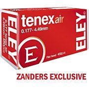 ELEY TENEX AIR PELLETS .177 4.49MM 8.2 GRAINS 450-PACK
