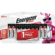 ENERGIZER MAX BATTERRIES AA 16-PACK
