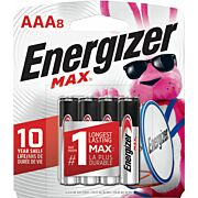 ENERGIZER MAX BATTERRIES AAA 8-PACK