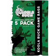 KOOLA BUCK ECONOMY DEER QUARTER GAME BAGS 5-PACK