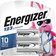 ENERGIZER LITHIUM BATTERIES CR123A 2-PACK