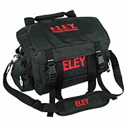 DKG TRADING RANGE BAG W/ ELEY RED LOGO BLACK NYLON