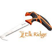 "MC ELK RIDGE TREK 5"" T-HANDLE SAW WITH SHEATH BLK/ORG/SS"
