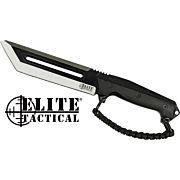 """MC ELITE TACTICAL THE RIG 6.5"""" TANTO FIXED BLACK D-HANDLE"""