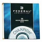 FED PRIMERS- LARGE RIFLE 5000PK