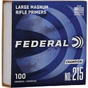 FED PRIMERS- LARGE MAG. RIFLE 5000PK
