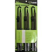"HME BOW HANGER 20"" FOLDING W/ACCESSORY HOOKS 3PK"