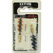 OTIS BORE BRUSH .410 2-PACK 1-NYLON 1-BRONZE 8-32MM THREAD
