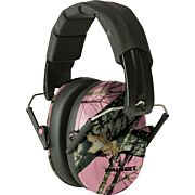 WALKERS MUFF SHOOTING PASSIVE PRO-LOW PROFILE 22dB PINK CAMO