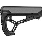 F.A.B. DEFENSE BUTTSTOCK AR-15 /M4 BLACK MIL-SPEC/COMMERCIAL