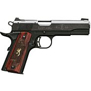 """BG 1911-22 MEDALLION .22LR 4.25"""" FS MATTE BLACK ROSEWOOD"""