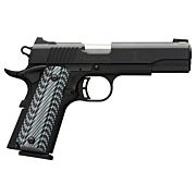 BG BLACK LABEL PRO 1911-380 .380ACP FS 8-SHOT BLACK G10