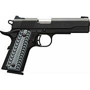 BG BLACK LABEL PRO 1911-380 .380ACP FNS 8-SHOT BLACK G10